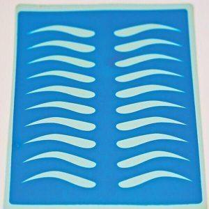 Blue pre Drawn Ladies Matt by Joanne Lee