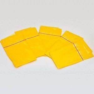 Small yellow disposable bags from Joanne Lee