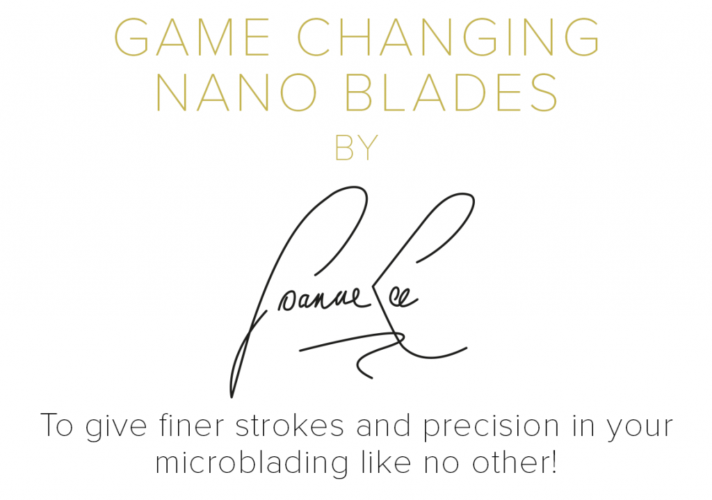 Game Changing Microblades by Joanne Lee