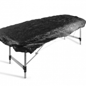 Black Elasticated Bed Cover