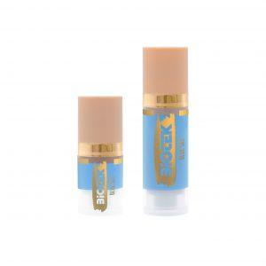 Permanent makeup, Biotek's Blue Sky pigment is a cool light blue colour