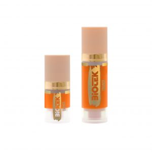 Orange is a mixing colour for permanent make-up and microblading pigments. Orange colour can be added to another colour in the pigment cup to make it warmer.